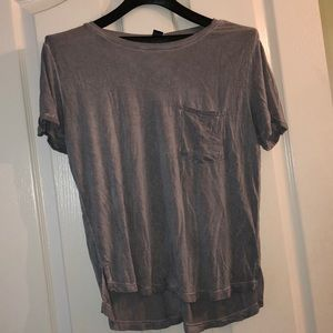 Ashy grey Forever21 basic tee